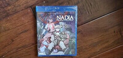 Nadia Secret of Blue Water Blu-ray TV Complete Series English MINT Gainax NEW
