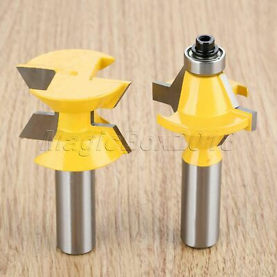 Carbide Alloy Router Bits Woodworking Cutter Milling Trimming Tool 1/2″ Shank
