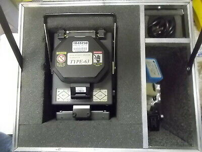 Sumitomo Electric Type-63 Fusion Splicer/with Fiber Cleaver