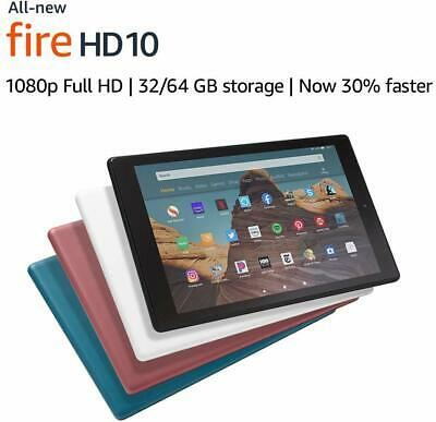 "All New - Amazon Fire HD 10 Tablet 10.1"" Display 32GB (9th Generation) 2019"