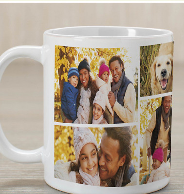 Personalized Mug, Photo Collage Cup Birthday Christmas Mother Fathers  Gift Xmas