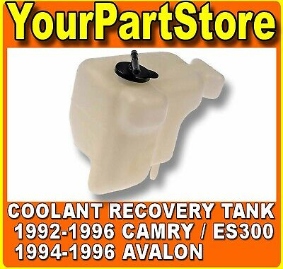 For 92-96 Toyota Camry Avalon Lexus ES300 Coolant Bottle Radiator Coolant BT0007