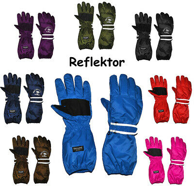"""Thermo Gloves - Extra Long Shaft - """" Free Colour Selection """" - Size: 5 Ja"""