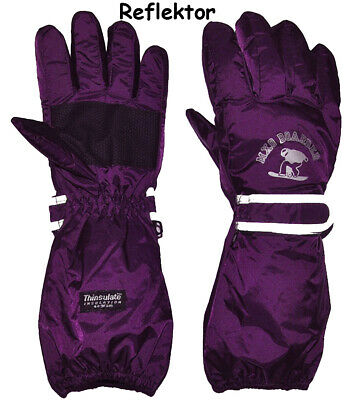 """Thermal Gloves/Gloves - with Long Shaft - """" Purple - Violet """" - G"""