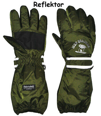 """Thermal Gloves/Gloves - with Long Shaft - """" Olive Green """" - Size"""