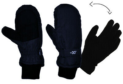 2 in 1: Gloves in Mitten for Cold to -30 Degree - Waterproof