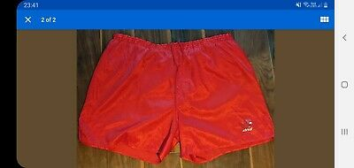Adidas Nylon Shorts Red D10