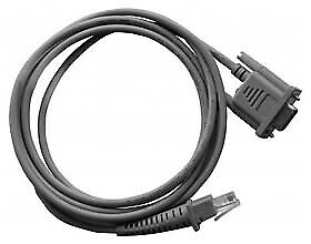 Datalogic Grey 1.8 m RS-232 RJ-45 Male connector / Male connector 90G000008