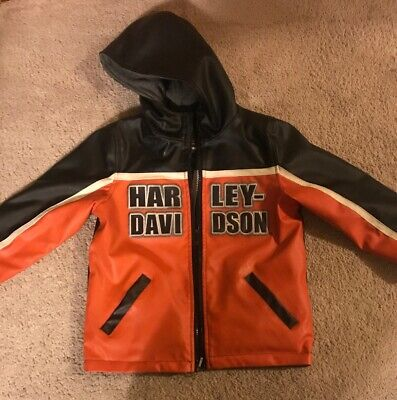 Cool Harley Davidson Reversible Child's Jacket with Embroidery