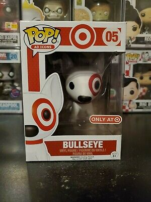Funko Pop! Ad Icons Bullseye #05 Target Exclusive Vinyl Figure WITH PROTECTOR!