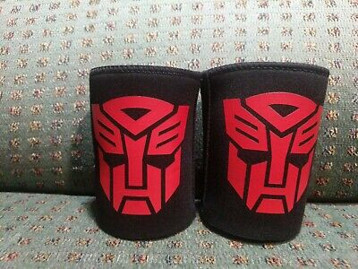 2 Transformers Can Stubby Coolers Holders - Hasbro