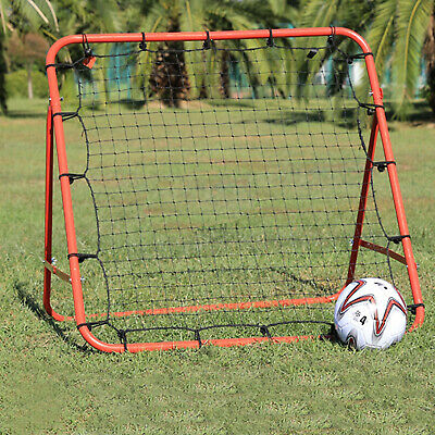 New Rebounder Net Kids Adults Football Training Aid Practice Adjustable