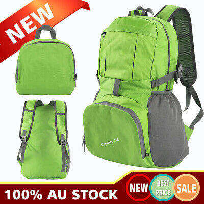 New 35L Foldable Outdoor Sports Backpack Camping Hiking Travel Bag Waterproof