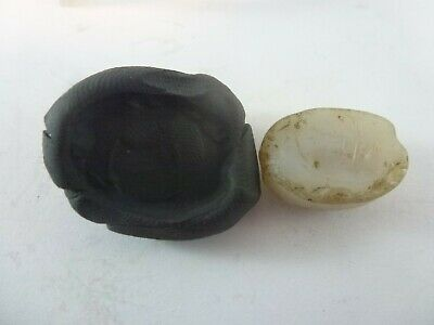 Ancient SASANIAN Agate SEAL Bead Intaglio FREE SHIPPING