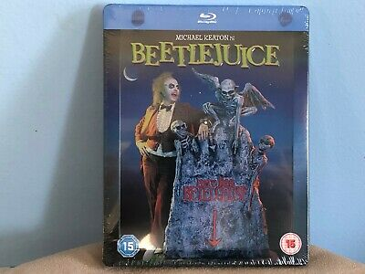 BRAND NEW Sealed BLU-RAY/DVD Steelbook - BEETLEJUICE