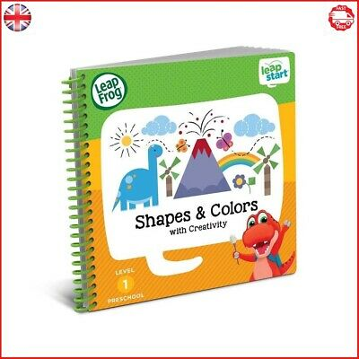 LeapFrog LeapStart Nursery Activity Book Shapes Colours and Creative