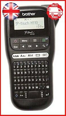 Brother PT-H110 Label Printer | P-Touch Labeller | QWERTY Keyboard | Handheld