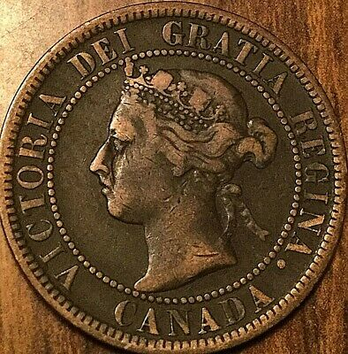 1899 Canada Large Cent Large 1 Cent Penny