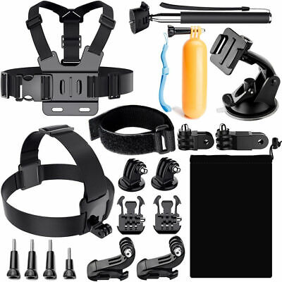 NEW GoPro Accessories Kit Outdoor Sports Bundle for Gopro hero 7 6 5 4 3 Session