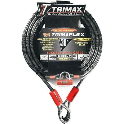 TRIMAX Câbles tressés Trimaflex QUADRA BRAID 30'X10MM
