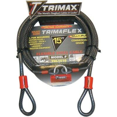 TRIMAX Câbles tressés Trimaflex TRIMAFLEX QUADRA BRAID 15'