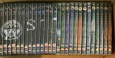 27 x Stargate TV Series DVD Bundle Job Lot (Not a Complete Set or Series)