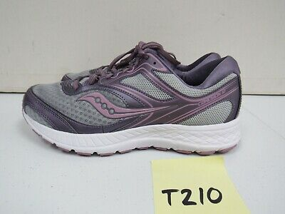 SAUCONY GIRLS GRID Cohesion 6 LTT Sz 7 M Running Shoes Gray