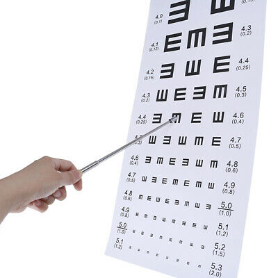 1X Adjustable Durable Pen Design Eyesight Rod for Optometry Visual Chart S CH SP