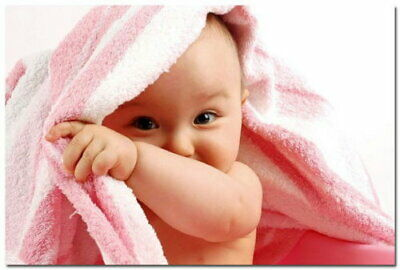 82040 Cute Baby Kids Pregnant Children Room Wall Print POSTER AU