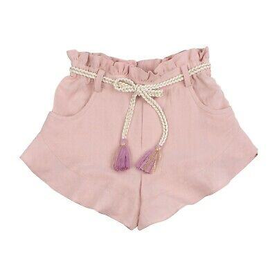 Outside the Lines Girls' Frill Hem Shorts / Pink 4-5 Years New With Defects