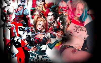 Suicide Squad Harley Quinn Stand DC Comics Mini Poster Print 40x50cm16x20 in