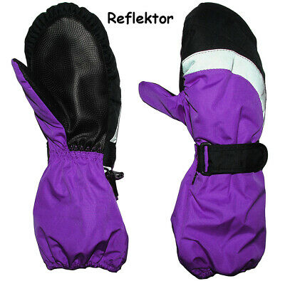 """Thermal Gloves/Mittens - with Long Shaft - """" Purple/Violet """" - Grö"""