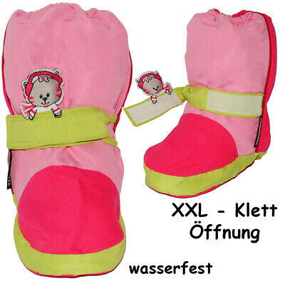 """Thermo - Shoe Covers/Learn-To-Walk Shoes - """" Cat - Pink/Pink """" - Sizes: 3 M"""