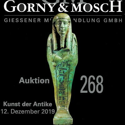 GORNY & MOSCH Antiquities CURRENT LIVE Auction 268 Ancient Greek, Roman Catalog