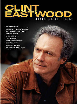 Clint Eastwood Collection DVDs set. 10 DVD movies