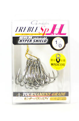 3790 Gamakatsu Treble Hook RB MH FT Feather Hyper Shield Size 4