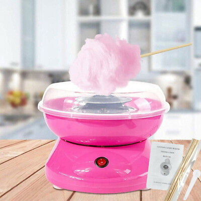 Professional Electric Cotton Sugar Candy Floss Maker Machine Home Kids Party DIY