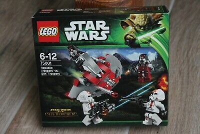LEGO - Star Wars 75001 - Republic Troopers vs. Sith Troopers - neu & ovp