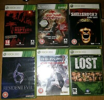 6 - Xbox 360 Games Dead Island Res 6 Lost & More , Very Quick Dispatch