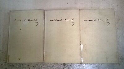 The 2nd World War by Winston Churchill: collection of 3 adult non-fiction books