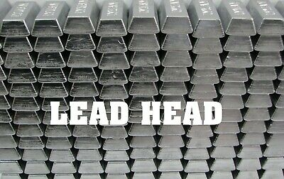 50lbs PURE Lead Fishing Bullets Soft Lead Pipe Ingots sinkers casting molds