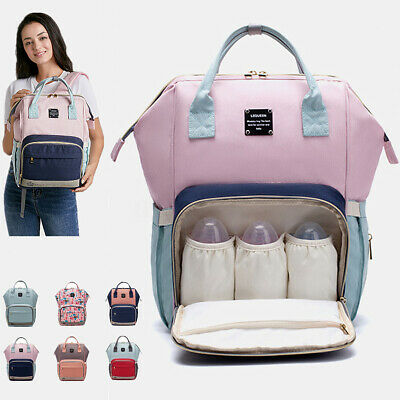 LEQUEEN Baby Diaper Backpack Bag Waterproof Mummy Maternity Nappy Travel