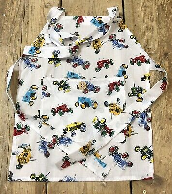 Kids Cotton Tractor Apron