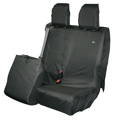 Citroen Dispatch 2016on Tailored Passenger Front Seat Cover Waterproof Black