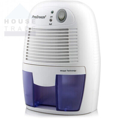 Pro Breeze 500ml Compact and Portable Mini Air Dehumidifier for Damp, Mould,...