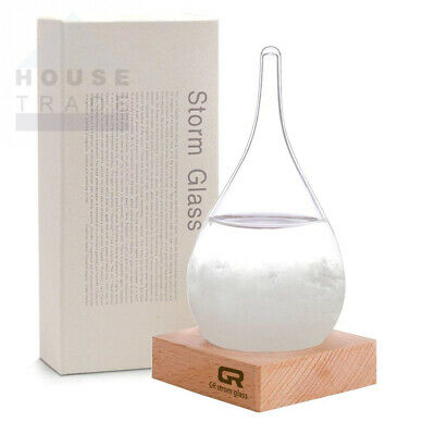 Eno GR Storm Glass Weather Stations Water Drop Predictor Medium