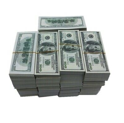 Movie,Music Video, Photo Purposed Prop Money 50,000 Fifty Thousand Replica