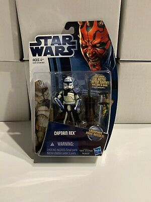 Star Wars The Clone Wars CAPTAIN REX- CW13- New- 2012