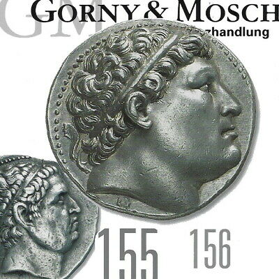 GORNY & MOSCH Ancient Greek, Roman Coin Auction 155, 156 Catalogs & Final Prices