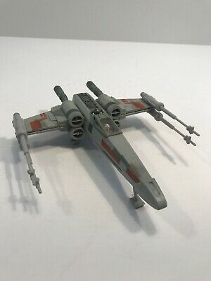 1995 Star Wars Action Fleet x-wing with Luke Skywalker and R2-D2